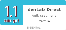 Testsiegel: denLab Direct Aufbissschiene