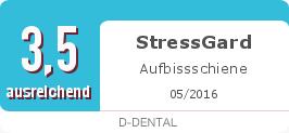 Testsiegel: StressGard Aufbissschiene